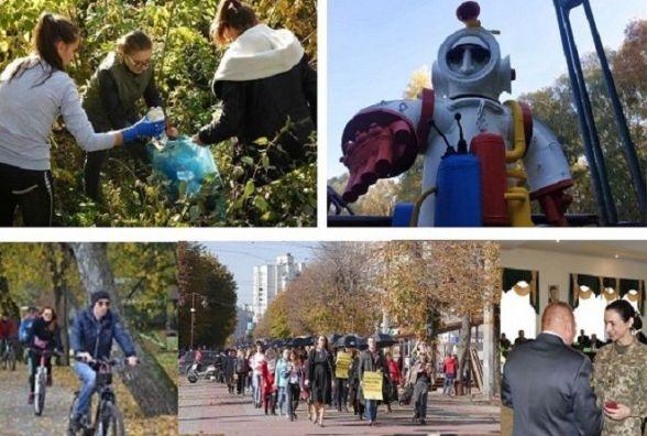 """Студентське прибирання, розфарбований """"Космос"""" та велопробіг: ТОП-5 подій тижня у Хмельницькому"""