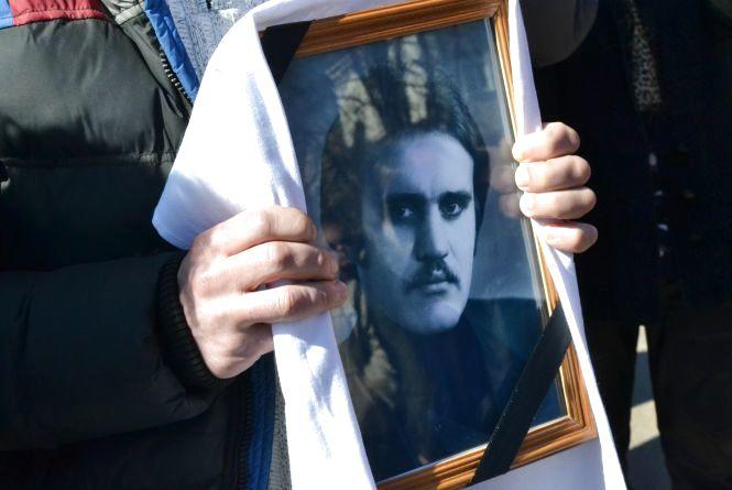 Хмельничани прощались із 55-річним добровольцем, який загинув під Луганськом