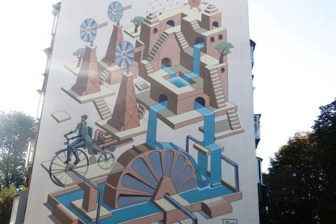 Фото дня: екологічний стріт-арт у Хмельницькому уже готовий
