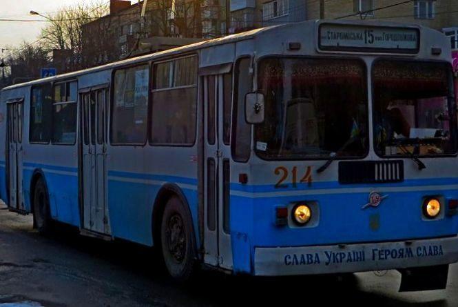 Як курсуватимуть нічні тролейбуси в Хмельницькому (РОЗКЛАД РУХУ)