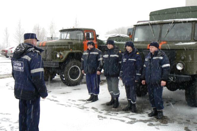 Хмельницькі рятувальники відправились в зону АТО