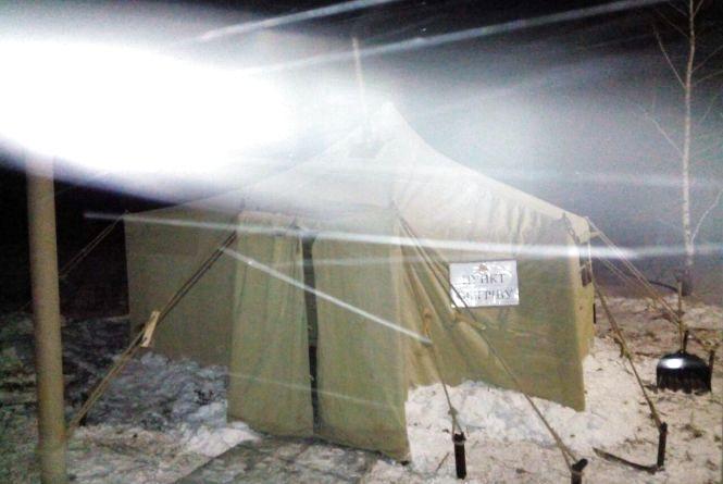 У Шепетівському районі розгорнули мобільний пункт обігріву