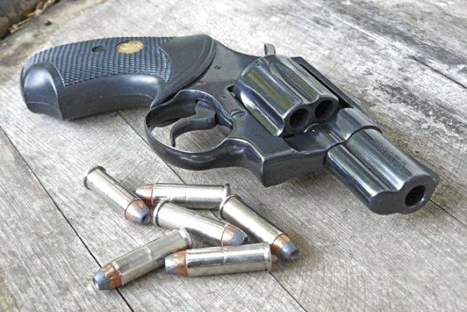 У Кам'янці батько захищався від сина пістолетом