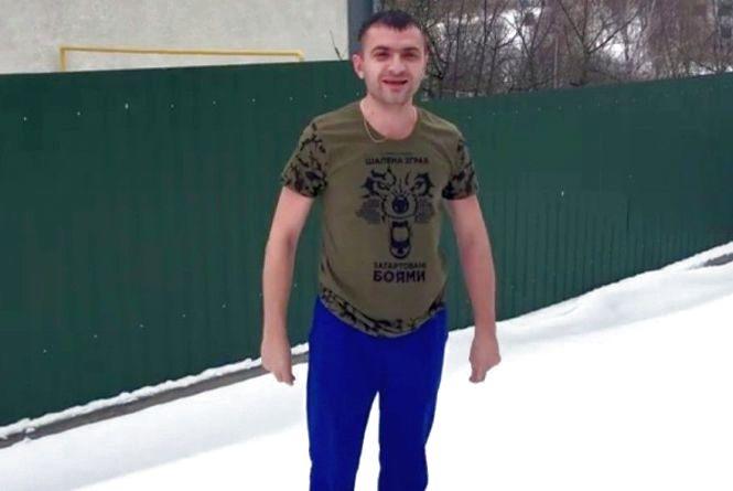 Олександр Симчишин віджимався на снігу. Естафету передав депутатам