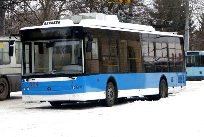Як виглядають нові тролейбуси і коли вони виїдуть на вулиці Хмельницького