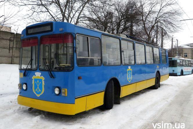 Тролейбус з гербом Хмельницького скоро кататиметься вулицями міста