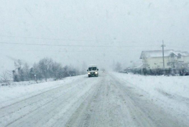 Обережно, ожеледь! Рятувальники попереджають про небезпеку на дорогах Хмельниччини