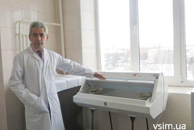 Волонтери подарували хмельницькій дитячій лікарні обладнання за 50 тисяч гривень