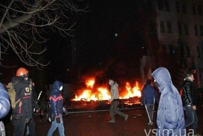 19 лютого у Хмельницькому штурмували СБУ