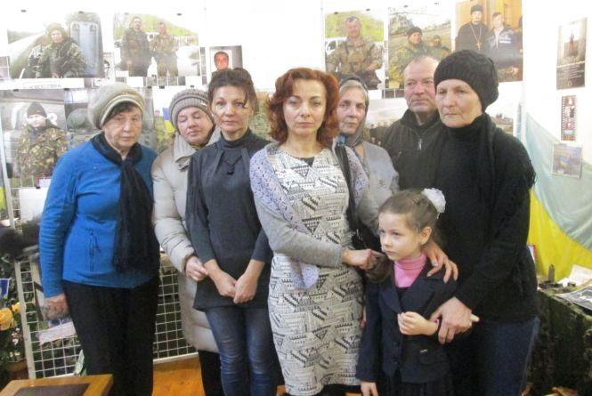 У Шепетівці вшанували загиблого в АТО Володимира Шевчука