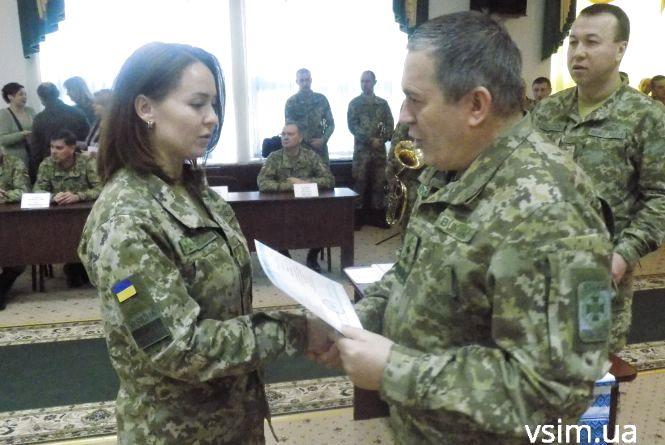 Після випуску хмельницькі офіцери-прикордонники поїдуть захищати східний кордон