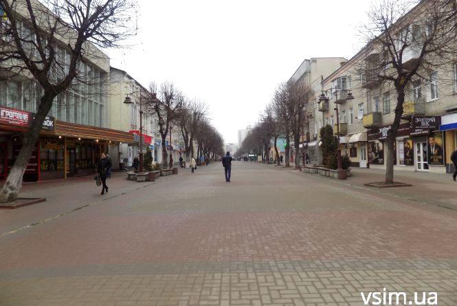 Фото дня: як виглядає Хмельницький в перший день весни