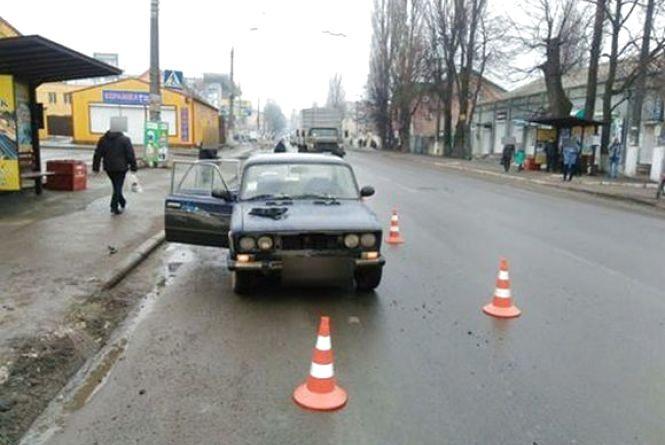 """На Тернопільській """"ВАЗ"""" збив жінку"""