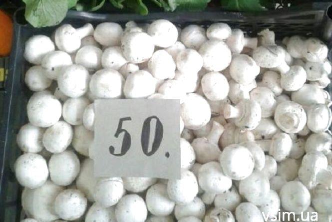 З початком посту на ринках Хмельницького підскочили ціни на шампіньйони і банани