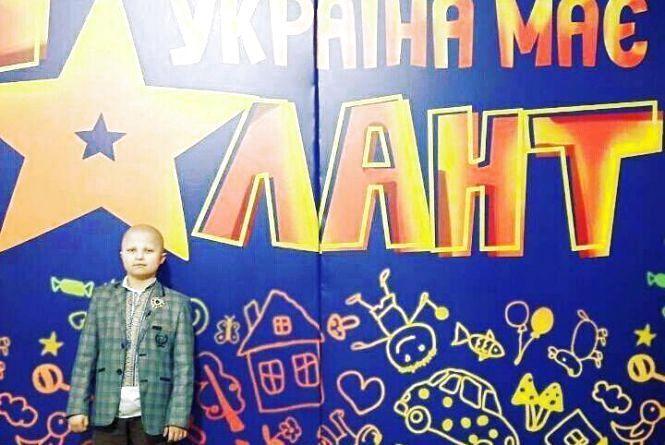 Хмельницький волонтер Артем Харченко виступив на «Україна має талант Діти-2»