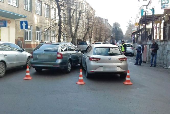 На Пилипчука зіткнулись «Skoda» і «Seat»