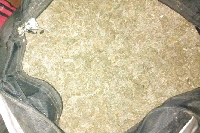 На Хмельниччині в чоловіка знайшли сумку марихуани