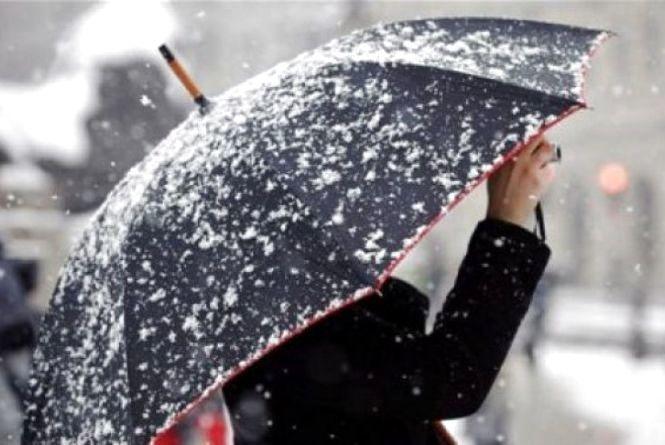 20 березня у Хмельницькому можливий дощ зі снігом