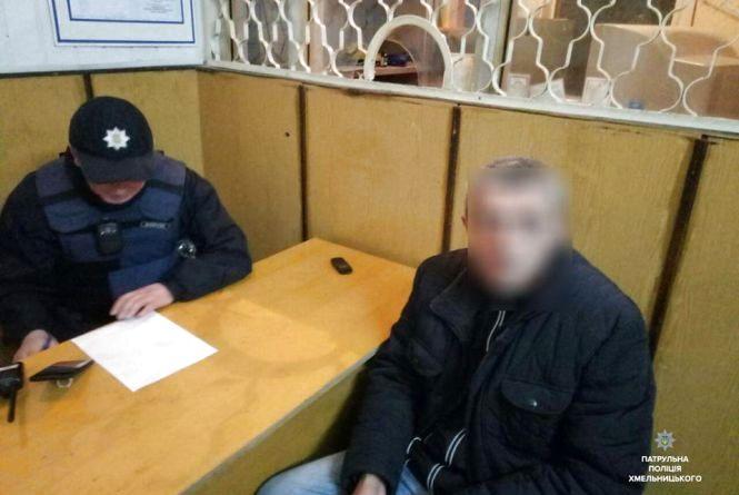 В центрі затримали чоловіка, який був в розшуку на Львівщині