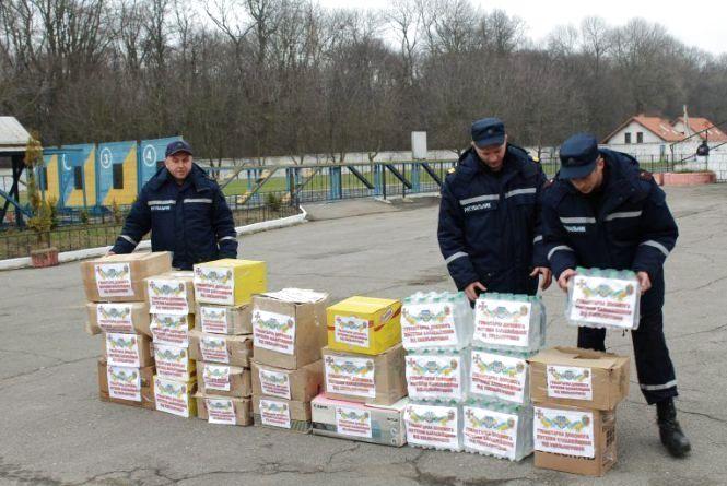 Хмельничани зібрали 10 тонн гуманітарної допомоги у Балаклію