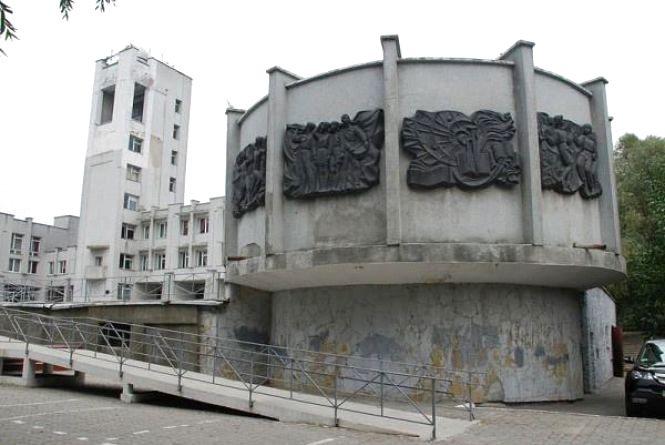 На Свободи стоїть панорама на честь визволення Проскурова від гітлерівців