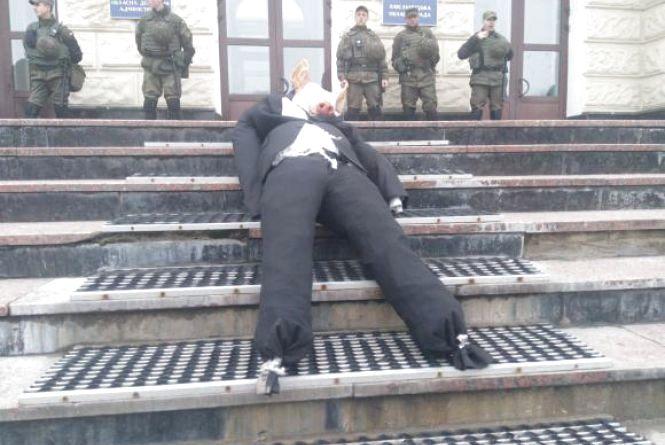 """""""Свободівська свиня"""" переїхала з Хмельницького в Тернопіль?"""