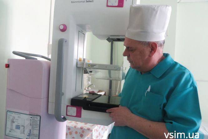 В онкодиспансер придбали новий мамограф. Як і кому записуватись на обстеження