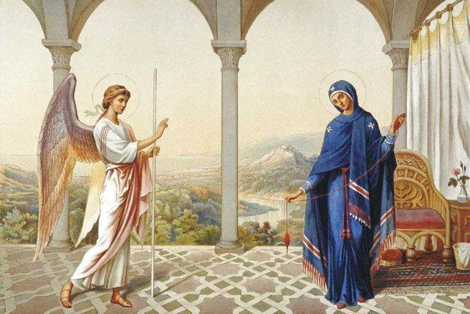 7 квітня - Благовіщення Пресвятої Богородиці