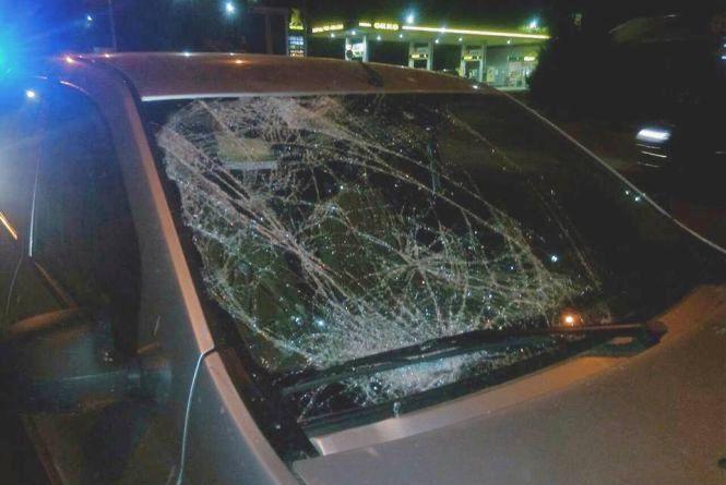 На Львівському шосе збили маму з двома дітьми
