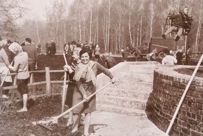 Як будували парк Чекмана 60 років тому (ФОТО)