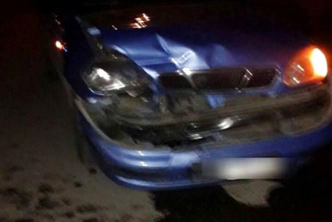 На Нижній Береговій п'яний водій на «Daewoo» врізався в «Audi»