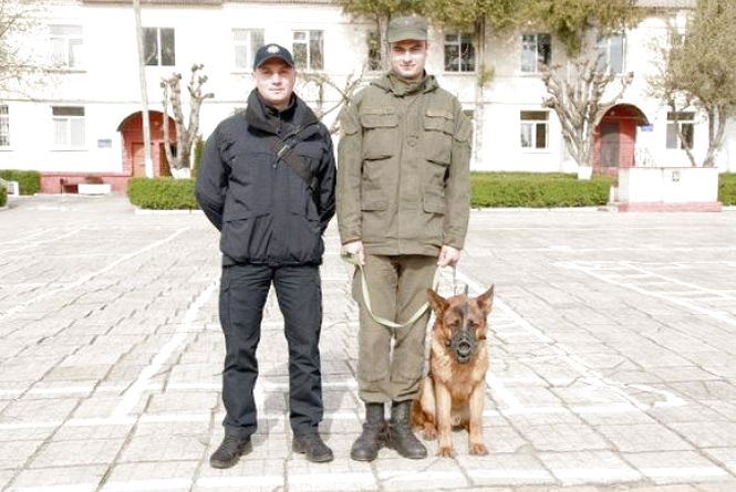 У Хмельницькому нагородили собаку Леона, який знайшов тіло в парку Франка