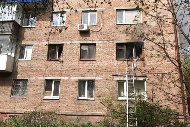 В багатоповерхівці на Тернопільській загорілась квартира