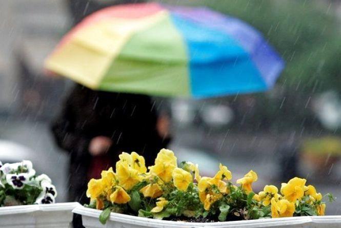 В останній день квітня у Хмельницькому дощитиме
