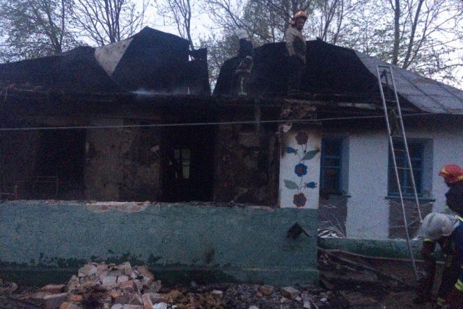 На Городоччині під час пожежі загинула жінка