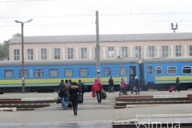 Через Хмельниччину пустили потяг до закарпатського курорту