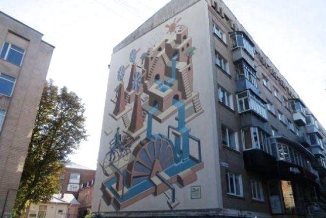 Які будинки у Хмельницькому розмалюють (ФОТО)