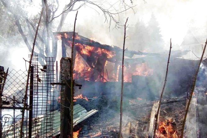 На Хмельниччині під час пожежі отримав опіки 9-річний хлопчик