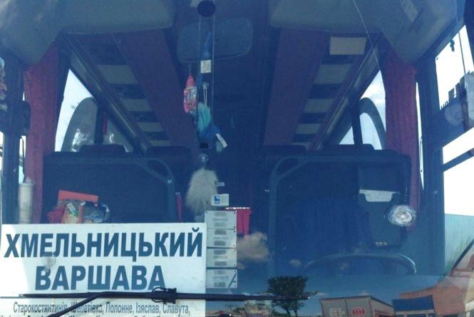Біля Красилова обстріляли автобус, в кому їхало 15 пасажирів