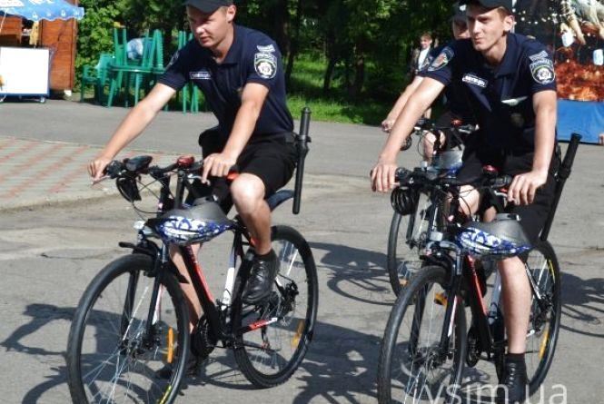 Велопатруль запрацює в Хмельницькому на початку червня