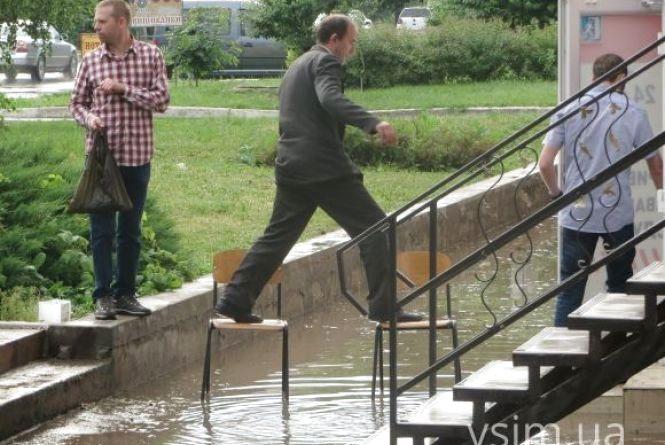 Рік тому Хмельницький затопило