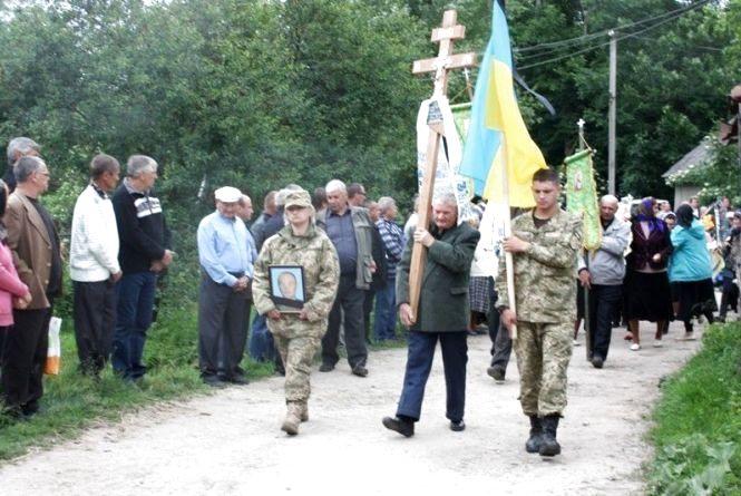 На Старокостянтинівщині попрощалися із військовим Олегом Майстришиним, який загинув під Волновахою