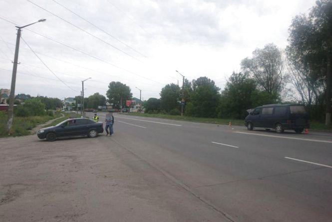 На Кам'янецькій зіткнулися «Volkswagen» і «Opel»