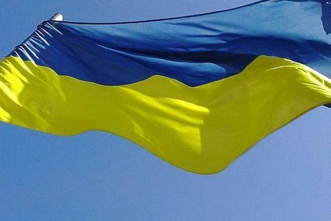 Біля «Дитячого світу» поцупили прапор України