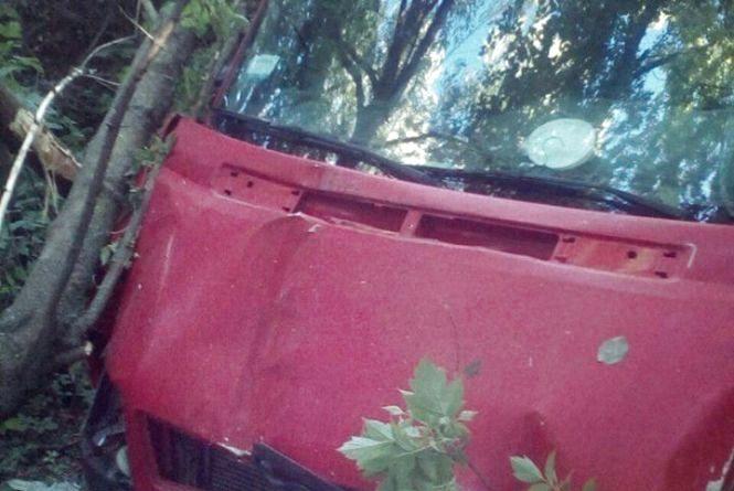 Хмельницькі патрульні розшукали 60-річного водія, який втік з місця ДТП