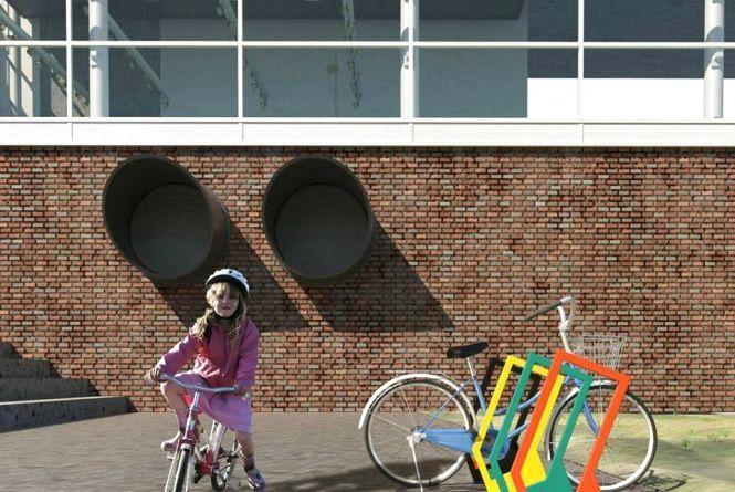 Біля хмельницьких шкіл з'являться велопарковки за 150 тисяч гривень (КАРТА)