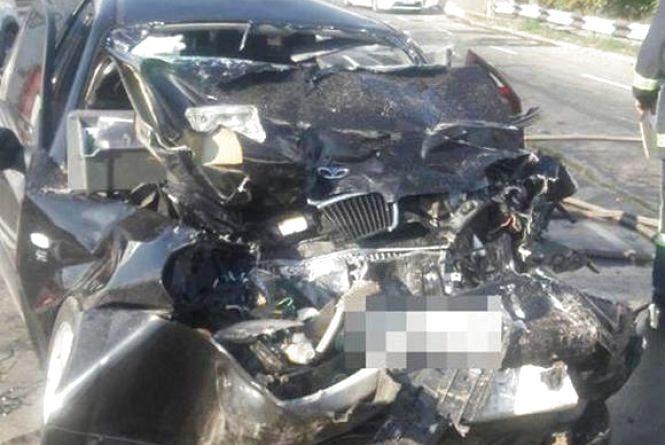Моторошна ДТП на Західно-Окружній: лоб в лоб зіткнулись дві іномарки