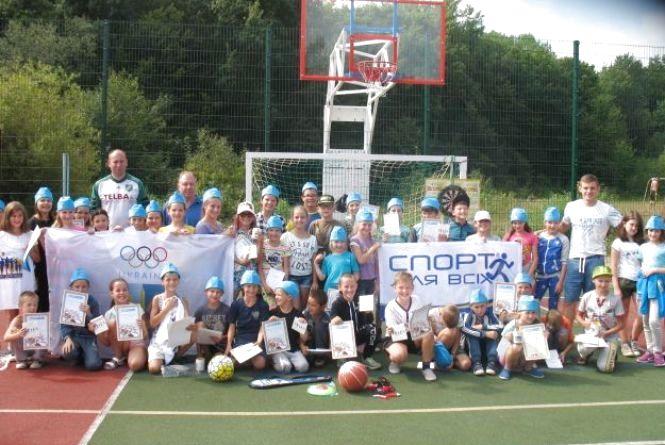 На Хмельниччині діти змагались за першість у спортивних змаганнях