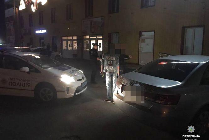 """На Тернопільській п'яний водій катався на """"Hyundai"""", який був у розшуку"""