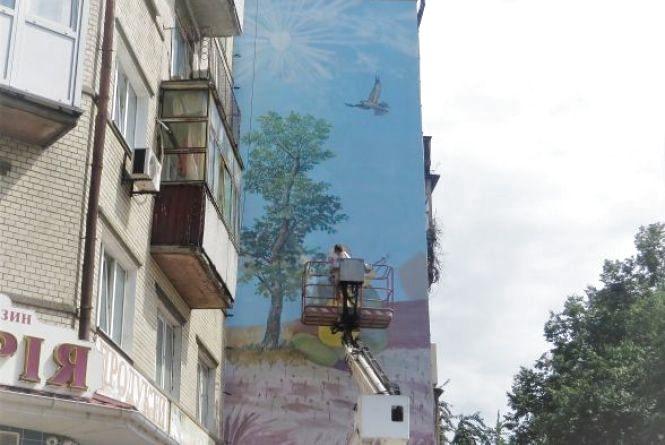 У Хмельницькому шукають будинок, де намалюють мурал за 120 тисяч гривень
